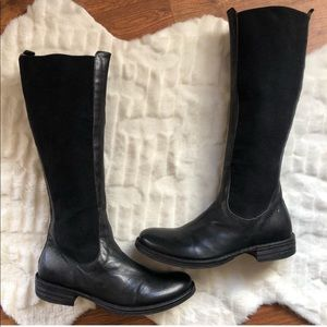 Fiorentini + Baker Black Leather Boots Size 9